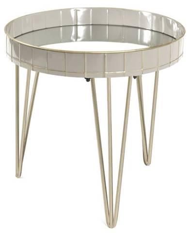 Prístavný stolík REWA 2 sivá
