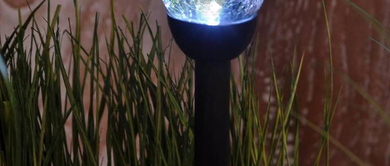 Solární svítidlo 1 LED BY-131576