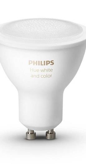 Inteligentná žiarovka Philips Hue Bluetooth 5,7W, GU10, White and
